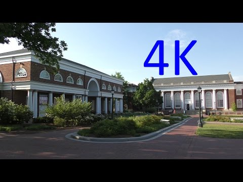 A 4K Video Tour of the University of Virginia (UVA)