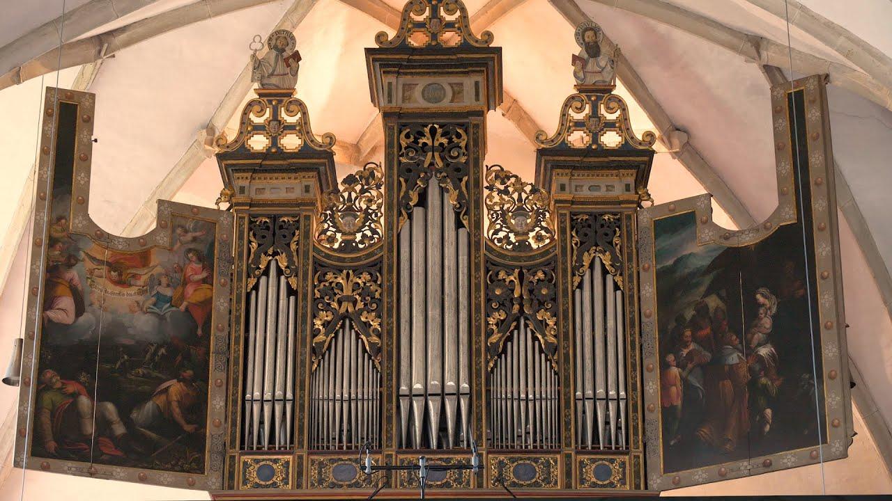 Peter Waldner an der Schwarzenbach - Orgel (1599) in der Pfarrkirche zum Hl. Petrus in Auer