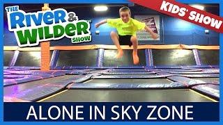 KIDS ARE ALONE IN SKY ZONE TRAMPOLINE PARK | TV FOR KIDS