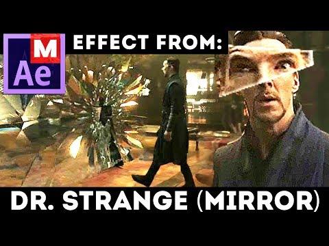 Mirror Dimension from Doctor Strange - Quantum Break Effect