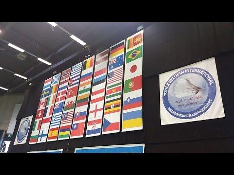 Yonex Belgian International promo video 2016