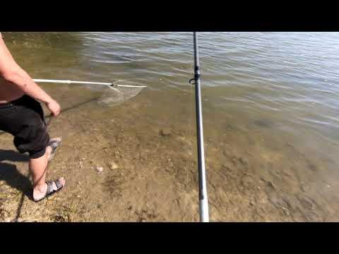 Новый способ ловли рыбы!!!!!!!!!!!!Как ловить на фидер  + резинкa ! !!!