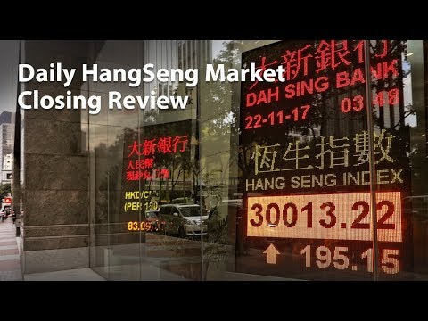 Daily Hangseng Market Closing Review (22 Juni 2018)