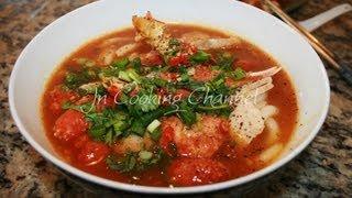 Jn  Banh Canh Cua (Vietnamese Crab Soup)