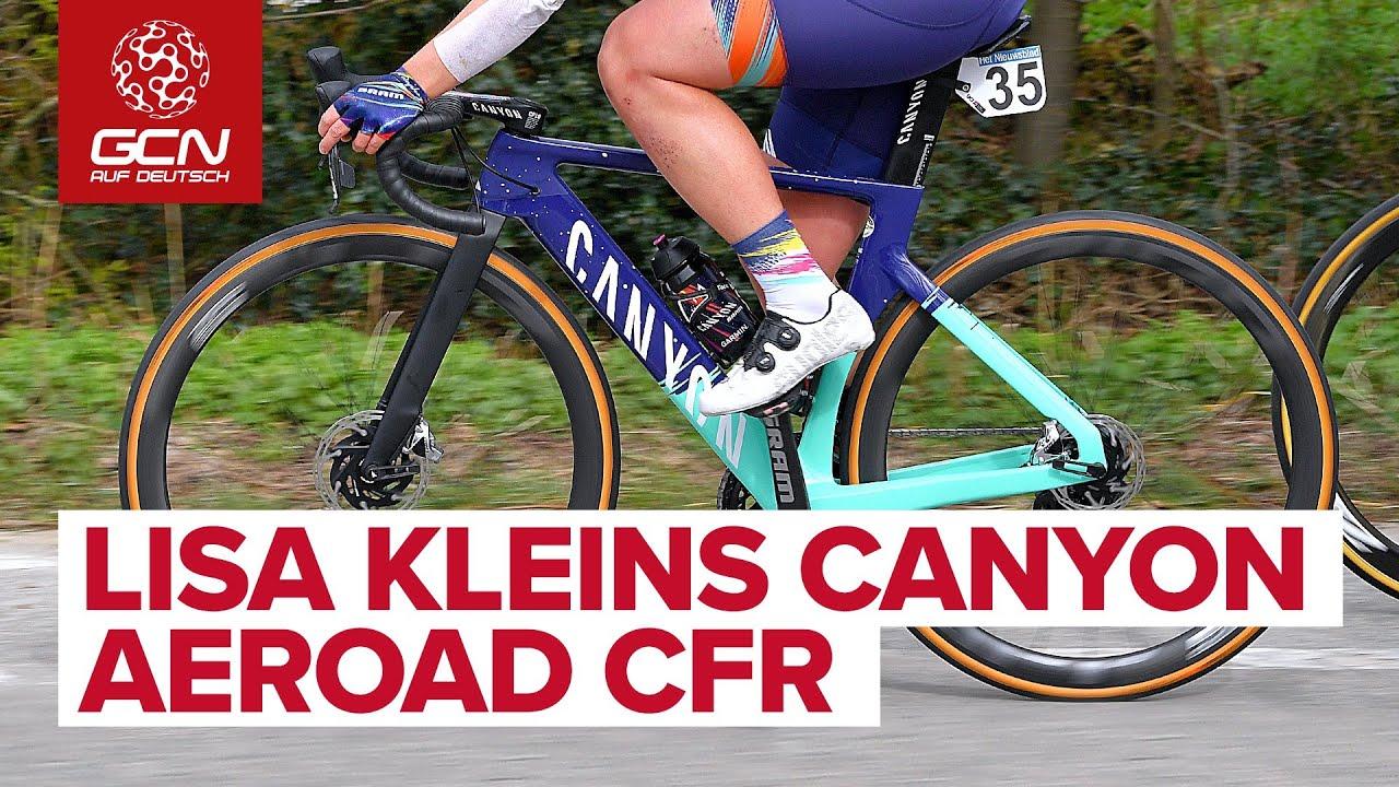 Lisa Kleins Canyon Aeroad CFR | Team Canyon SRAM Racing