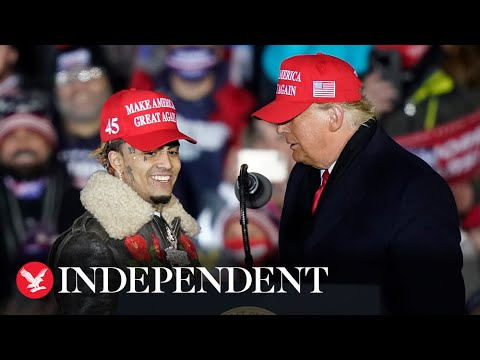 """Trump mistakenly calls Lil Pump """"Little Pimp"""" at last rally"""