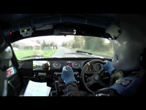 Killarney Historic Stages Rally 2011: Ballaghbeama - Tommy Mason & Tony McCarthy