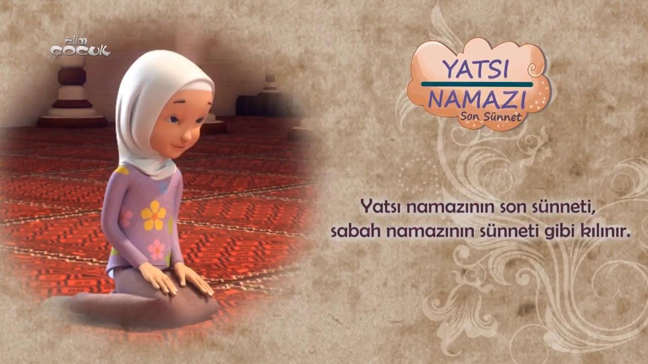 Yatsı Namazının Son Sünneti Nasıl Kılınır? (Kız)