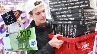 FÜR 100€ LUCA PIZZA 2 KAUFEN! **KÜHLTRUHE LEER**
