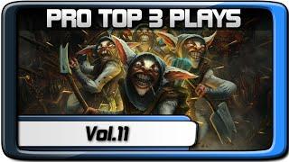 PRO TOP 3 PLAYS #11   s4 - DeviLisH - Sa-NeT   Dota 2