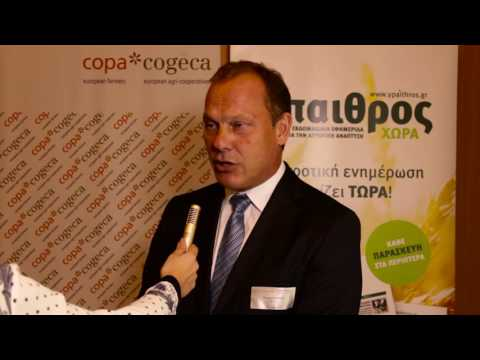Werner Schmidt, Director at European Investment Bank on financial instruments available for farmers