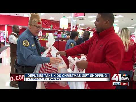 Wyandotte County deputies, prosecutors take children victims of crimes shopping