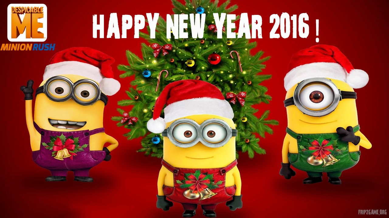 despicable me minion rush unlock daves firefighter happy new year 2016 youtube