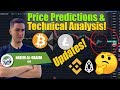 New BTC ETH LTC Price Predictions & Technical Analysis! Bitcoin Ethereum Litecoin Targets! BNB EOS!
