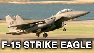 F-15E Strike Eagle Takeoff, Landing and Taxi