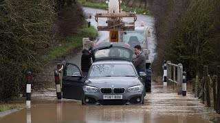 video: Storm Christoph: Army on standby amid flooding fears as two months of rain expected in two days