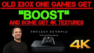 WOW! Phil Says Old Xbox One Games Don't Need Optimization For Boost, Some Get 4K PC Textures!!