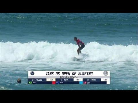 Vans US Open of Surfing: Round Four, Heat 4