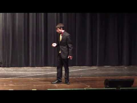 2013 Rotary 4-Way Test Speech Contest 1st Place Winner Jimmy Miller - Stow High School