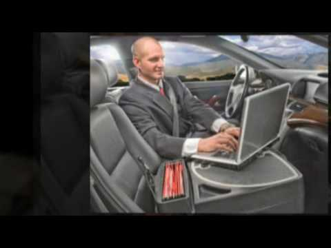 AutoExec Mobile Office Car Desks at GoOfficeSolutions - YouTube