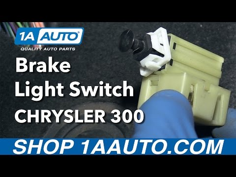 How To Replace Brake Light Switch 05-07 Chrysler 300