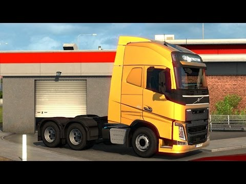 Euro Truck Simulator 2 - Volvo FH Picking Up a Trailer |
