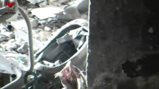 هاااااام...قتلى شبيحة الأسد فوق بعضهم إثر محاولتهم اقتحام حي القصور 6-10-2013