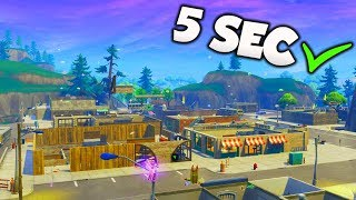 DESTROY TILTED TOWERS IN 5 SEC GLITCH! NEW Fortnite Season 6 Glitches PS4/Xbox One!