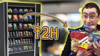 3 dni na jedzeniu TYLKO z automatów - ekstremalny test i dziwne produkty!