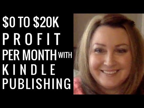 $0 to $20K PROFIT per Month with Kindle Publishing – Self-Publishing Success Stories Series