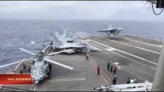 Dân Việt ủng hộ hàng không mẫu hạm Mỹ vào Biển Đông (VOA)
