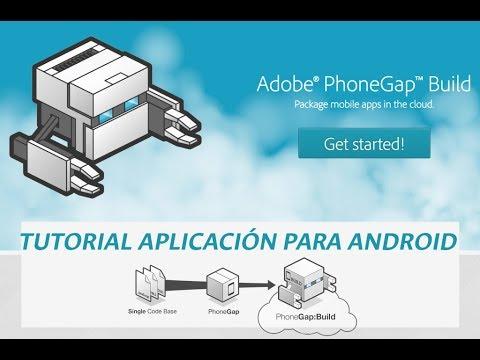 Aplicación Android Con HTML5 - PhoneGap Y JQuery Mobile