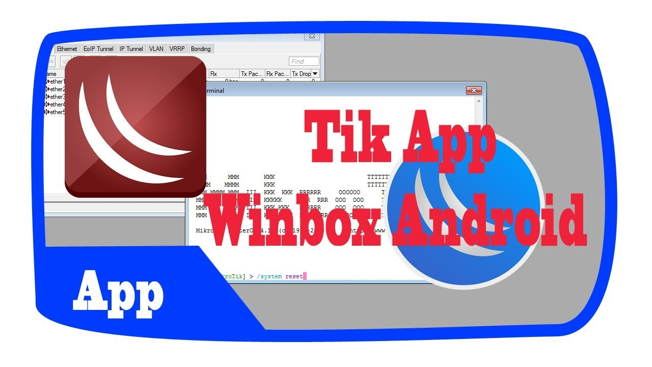 Winbox Mikrotik Di Android (Tik App)