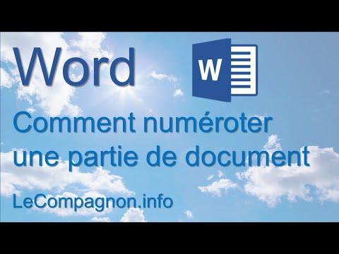 Ajouter des numéros de page ou des formats de numéros