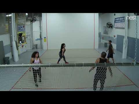 A-1 Handball: Amy/Scott Vs. Joey/Erica