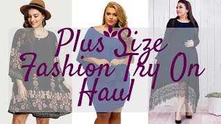 Plus Size Fashion Try On Haul || Affordable Plus Size Dresses for Special Occasions