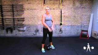 Unapologetically Powerful Demo: Kettlebell Paused Jump Squat