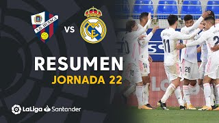 Resumen de SD Huesca vs Real Madrid (1-2)