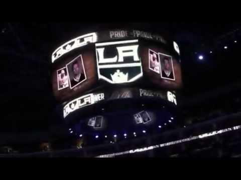 LA Kings Memorial to Team Lokomotiv NHL KHL