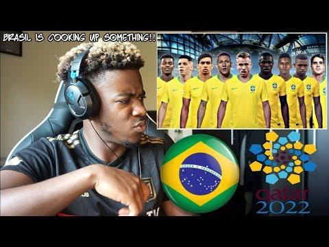 AS MAIORES PROMESSAS DO FUTEBOL BRASILEIRO RUMO A COPA DO MUNDO DE 2022 🇧🇷  Reaction
