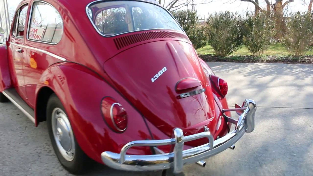 1966 vw classic beetle for sale fantastic original survivor must see to appreciate youtube. Black Bedroom Furniture Sets. Home Design Ideas