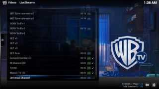Repeat youtube video XBMC LiveTV