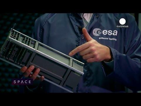ESA Euronews: CubeSat, a satellite in a shoe box