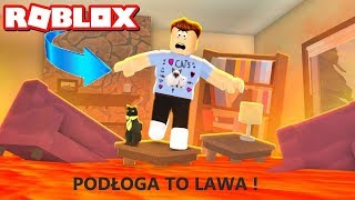 🔥PODŁOGA TO LAWA W ROBLOX😀*WOW*(The Floor Is LAVA)| YI ROBLOX