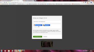 How to start and embed a Google Hangout to your Blog