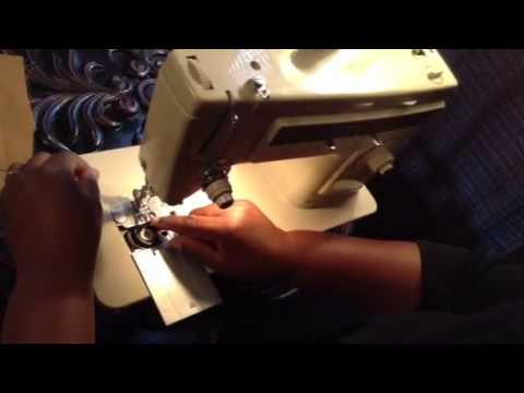 Part 2 How To Thread Singer Stylist 513 Sewing Machine