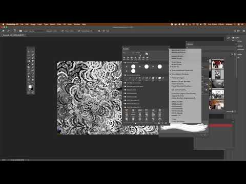 How to import ABR brushes into Photoshop tutorial thumbnail