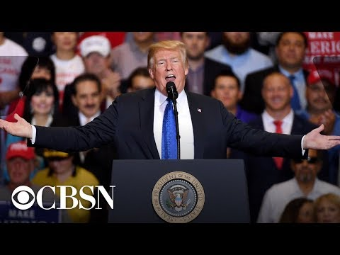 Donald Trump hosts 'MAGA' rally in Kansas