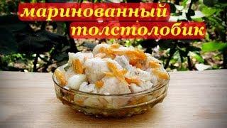 Маринованный толстолобик, рецепт рыбной закуски..