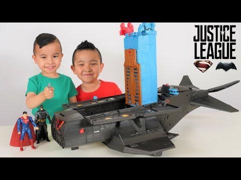 Batman Superman Justice League Mobile Command Center CKN Toys